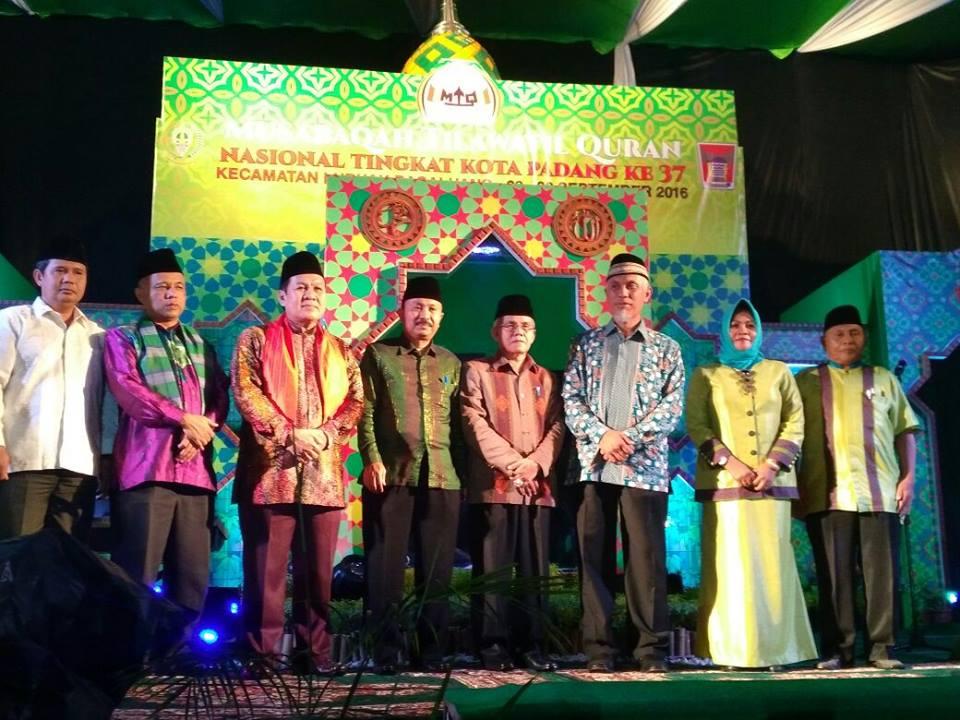 Sejarah Akhirnya Mengukir Kecamatan Kuranji Kota Padang Pernah Memboyong Trophy Juara Umum MTQ