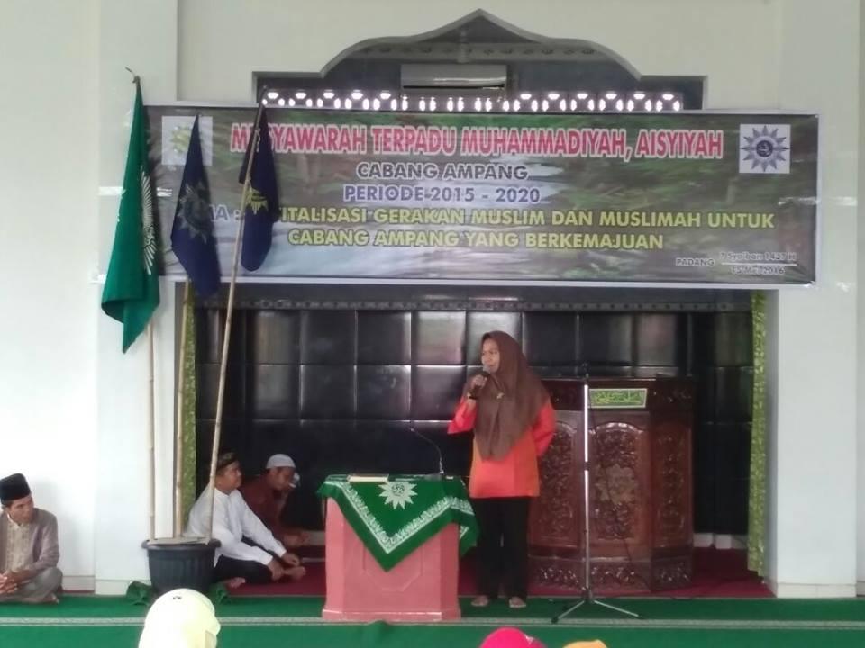 Musyawarah Terpadu Muhammadiyah Aisyah Cabang Ampang, Mewujudkan Ampang yang Berkemajuan
