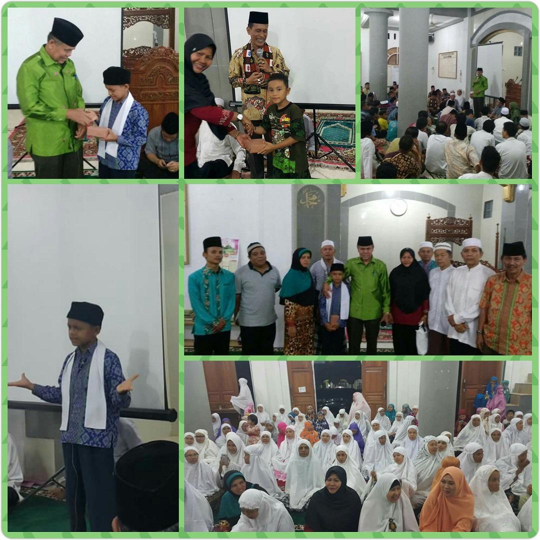 Safari Ramadhan Tim BNK Pimpinan Ir. H Emzalmi, M.Si, Dari Batu Akik hingga ke Daun Ganja