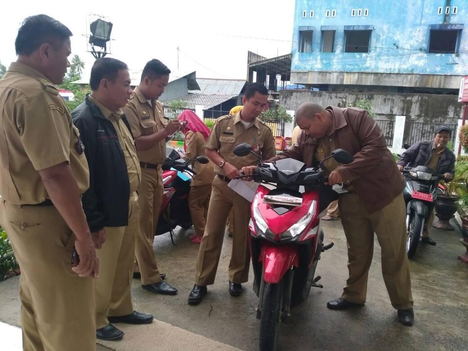Check Fisik Kendaraan Dinas Roda 2 se Kecamatan Kuranji