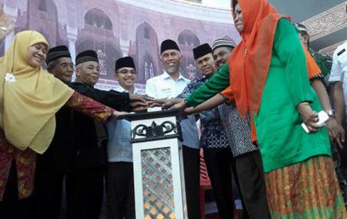 Walikota Dan Wakil Walikota Padang Hadiri Pembukan MTQ Kuranji